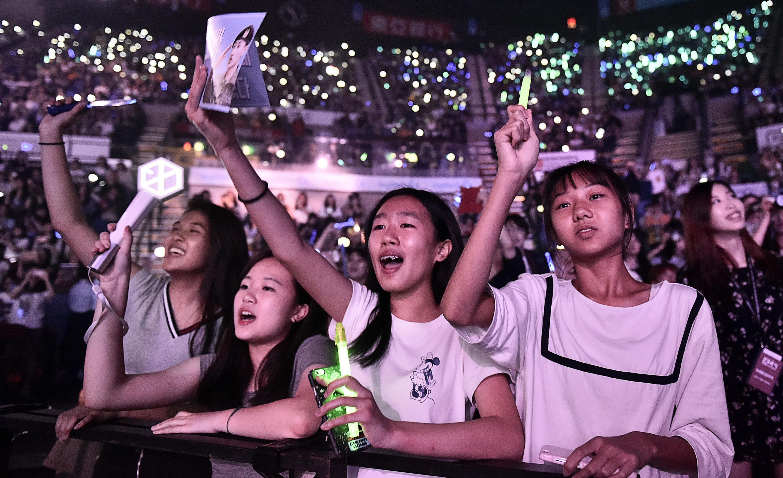 香港电竟音乐节一景