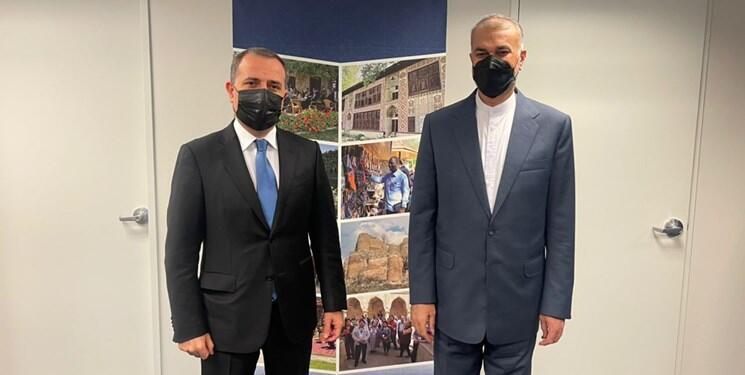 وزرای امور خارجۀ ایران و آذربایجان