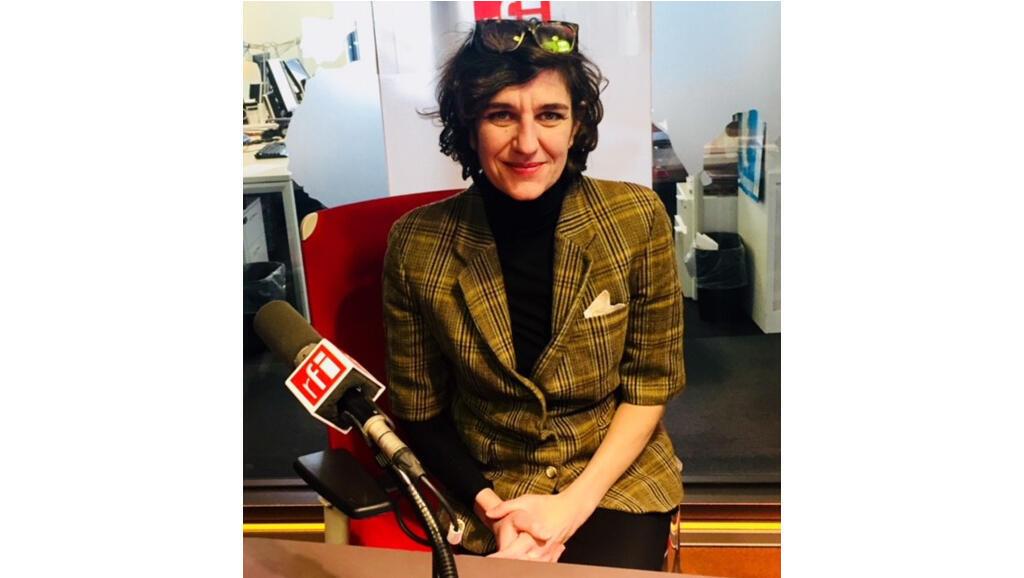 La romancière Gabriella Zalapi.