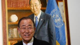 卸任聯合國秘書長潘基文