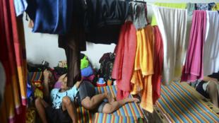 Migrantes cubanos en la localidad de Turbo, Colombia, el pasado 14 de junio de 2016.