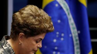 O resultado foi divulgado às 13h35 desta quarta-feira (31) em Brasília. 61 senadores votaram a favor do impeachment da presidente afastada Dilma Rousseff, e 20 votaram contra.