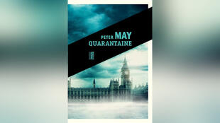 Couverture du roman «Quarantaine» de Peter May.