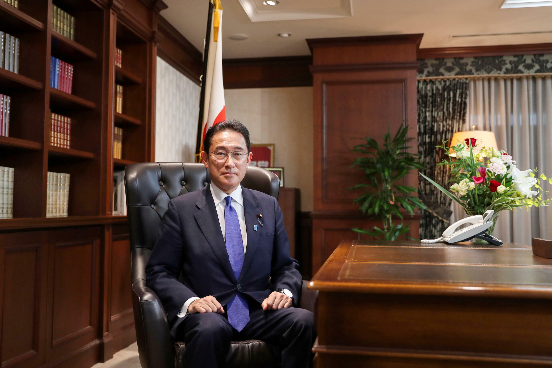 日本自民党新任总裁岸田文雄
