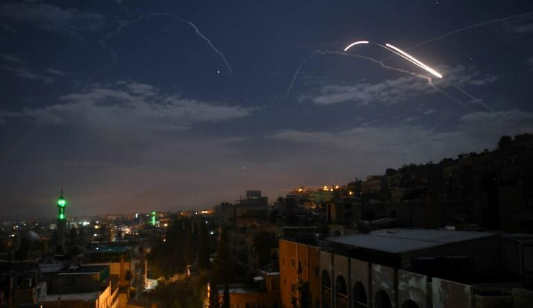 حملۀ هواپیماهای اسرائیلی و فعال شدن دفاع ضدهوائی سوریه - ٢١ ژانویه ٢٠١٩
