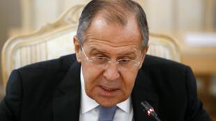 El jefe de la diplomacia rusa Sergueï Lavrov, el 21 octubre 2016.