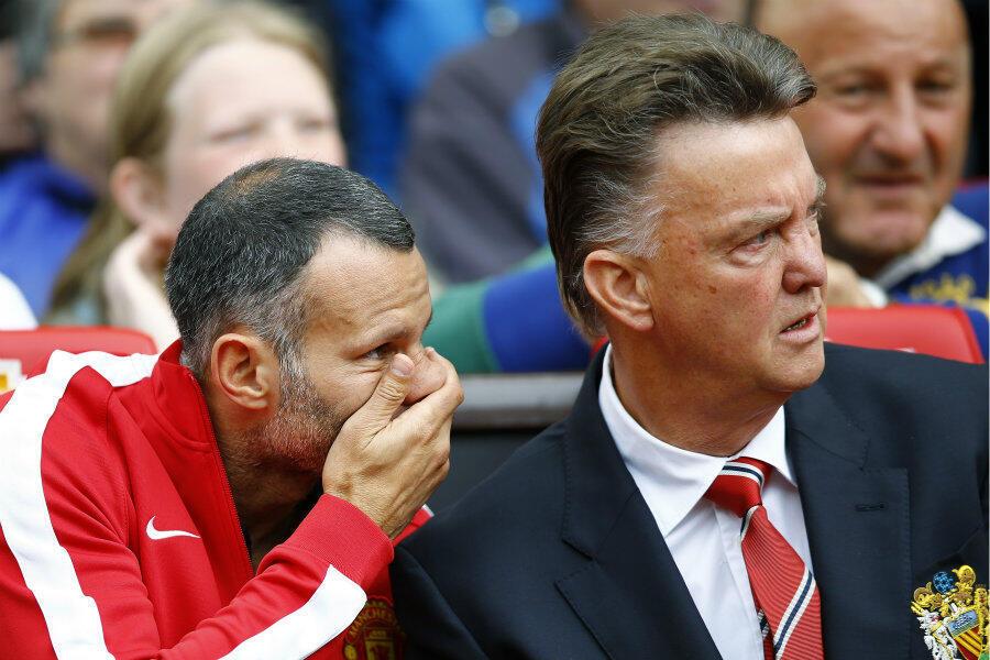 Kocha wa Manchester United Louis Van Gaal.