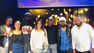 Céline Guillaume, Nâdiya, Claudy Siar, Fabregas le métis noir et ses musiciens.