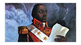 Portrait libre de Toussaint Louverture.
