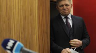 Fira Ministan Slovakia Robert Fico