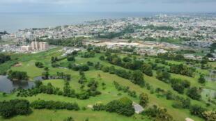 Vue aérienne de Libreville, la capitale gabonaise (image d'illustration).