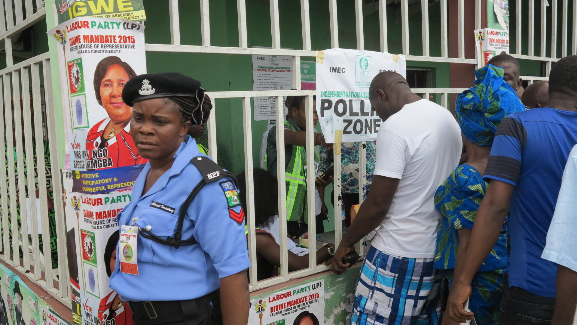 Voter accreditation takes place under tight security in Port Harcourt