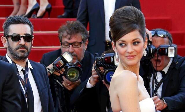 French screen star Marion Cotillard at the Cannes Film Festival