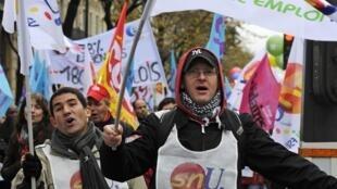 9 ноября 2010 г. бастовали работники Национального Агентства по Занятости