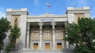 تصویری از ساختمان وزارت امور خارجۀ جمهوری اسلامی ایران