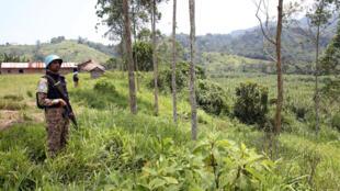 Dans la province du Sud-Kivu, des casques bleus du contingent pakistanais sécurisent la base Monusco de Ziralo.