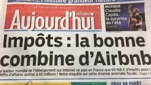 """Jornal denuncia o que considera uma """"anomalia fiscal"""" do site AirBNB."""