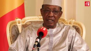 Idriss Déby Itno, le président du Tchad.