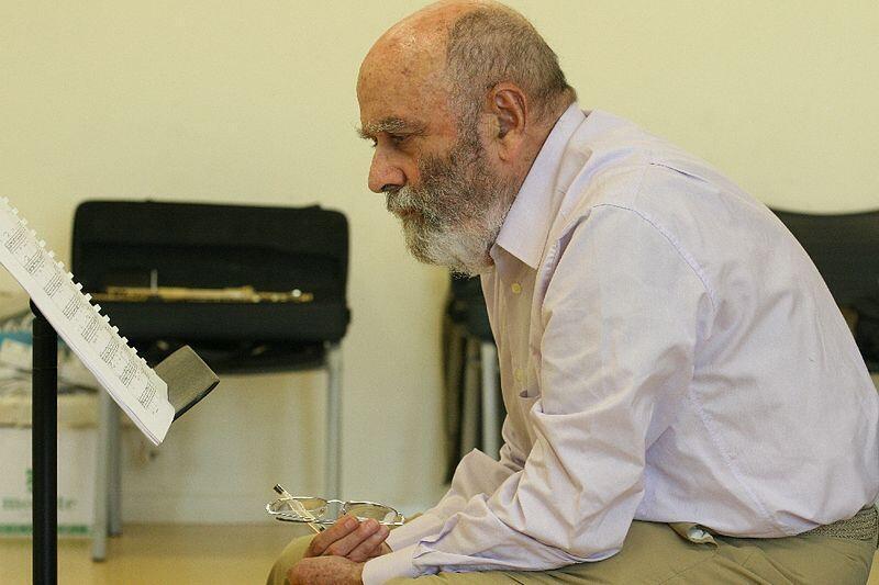 El compositor español Luis de Pablo
