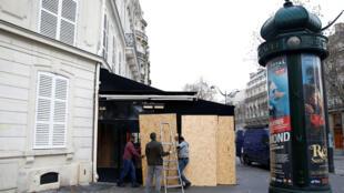 Утром в воскресенье, 9 декабря, Париж постепенно возвращается к нормальной жизни.