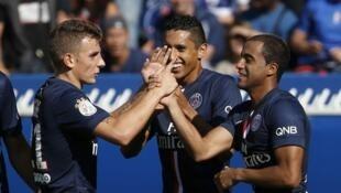Le PSG s'est imposé face à Bastia (2-0) à l'occasion de la 2ème journée de Ligue 1, le 16 août 2014.