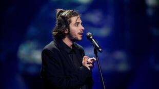 O cantor português Salvador Sobral