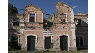 La ville de Vukovar toujours très marquée par les sanglants combats de la première guerre des Balkans en 1991.