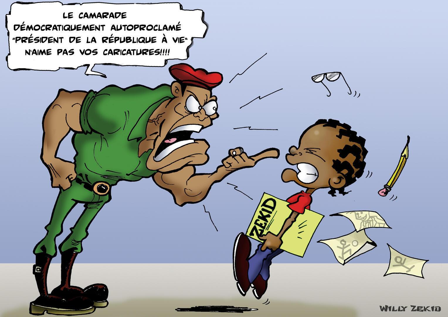 Dessin de Willy Zekid, de Congo-Brazzaville.
