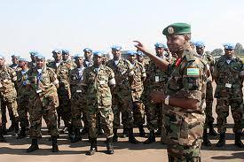 Wasu sojan kasar Rwanda