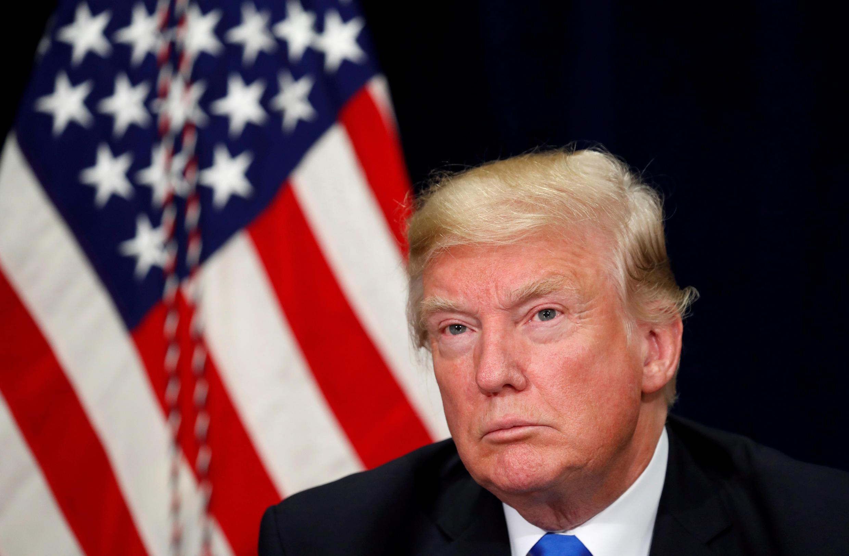 Tổng thống Mỹ Donald Trump tại Dallas, Texas, ngày 25/10/2017
