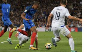 Le match France-Luxembourg, le 3 septembre 2017, à Toulouse, dans le cadre des éliminatoires de la Coupe du Monde 2018.