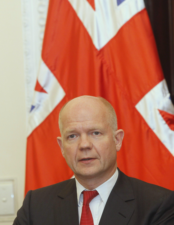 Sakataren harkokin kasar wajen Birtaniya, William Hague