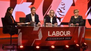 Lisa Nandy, Keir Starmer et Rebecca Long-Bailey sont les trois candidats engagés dans la course à la succession de Jeremy Corbyn à la tête du Labour.