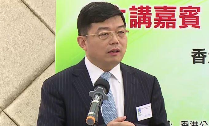 中央政府驻香港联络办公室法律部部长王振民