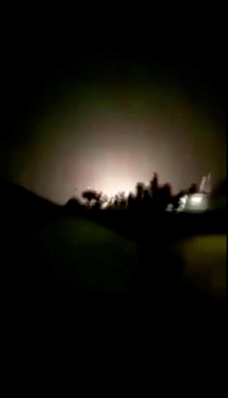 Iran bắn tên lửa đến căn cứ không quân Ain Al-Asad, tại Irak, ngày 08/01/2020.