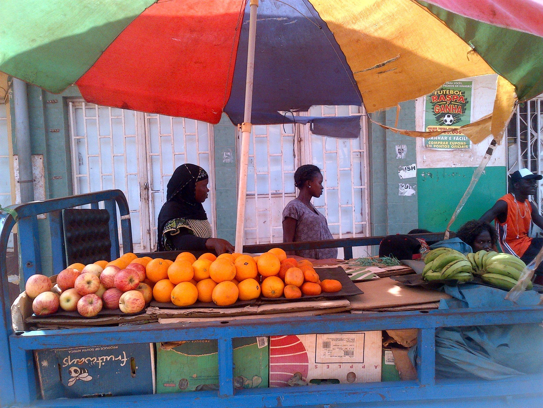 Nas ruas de Bissau