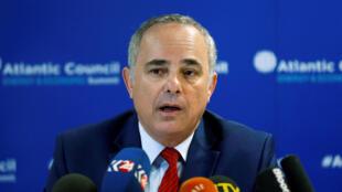 Yuval Steinitz, ministre israélien de l'Énergie.