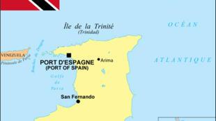 La République de Trinité-et-Tobago (Trinidad and Tobago): 1,3 million d'habitants, superficie 5 128 km.