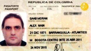 Alex Saab, alegado testa de ferro do Presidente venezuelano Nicolás Maduro