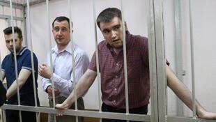 Илья Гущин, Александр Марголин и Алексей Гаскаров (слева направо)
