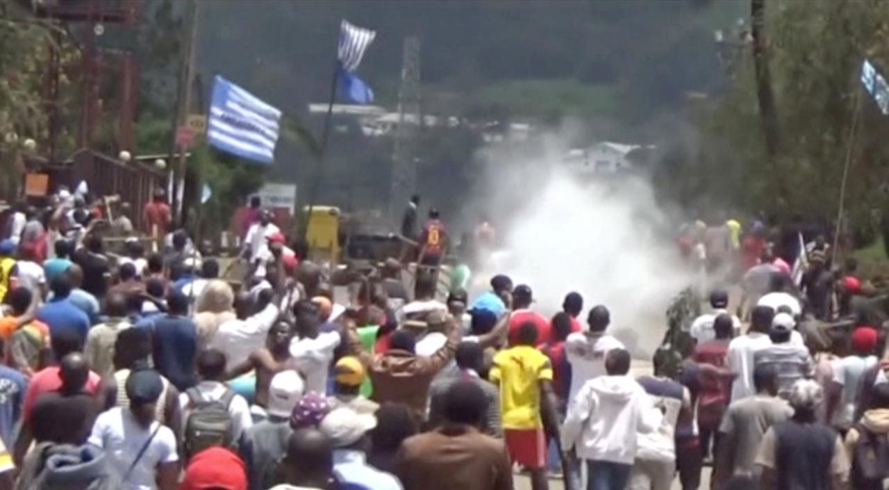 Waandamanaji nchini Cameroon wanaoishi katika nchi zinazozungumza lugha ya Kiingereza