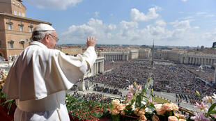 天主教皇方濟各復活節致全城與全球彌撒2017年4月16日羅馬