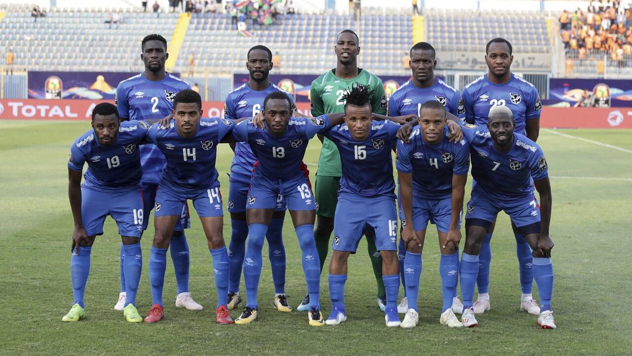 PHOTO Football Namibie - 1er juillet 2019