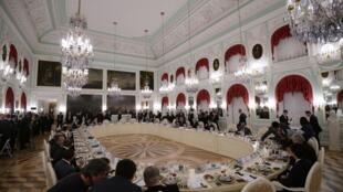 Le dossier syrien était au cœur des préoccupations lors du dîner officiel des dirigeants du G20.