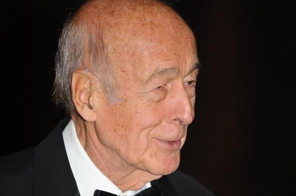 Former President Valéry Giscard d'Estaing, 7 Dec.2009.