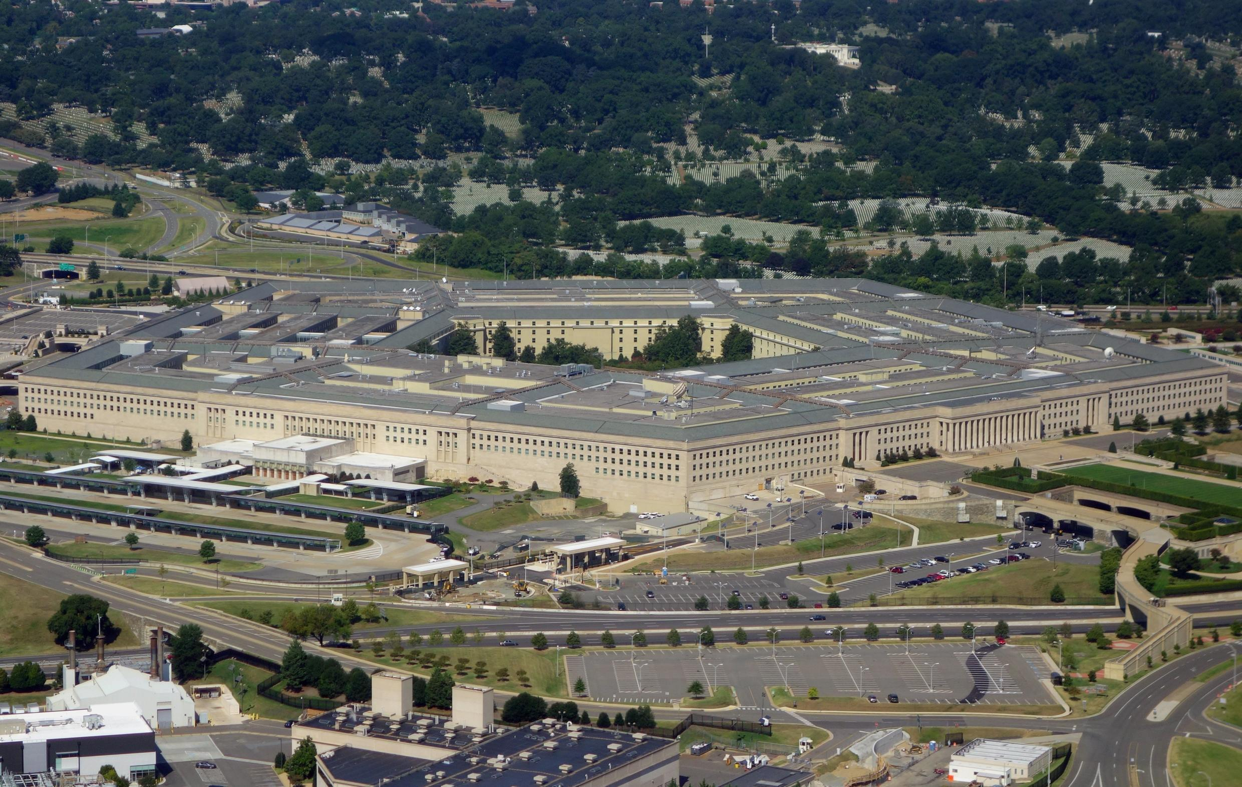 The Pentagon, pictured here from the air over Washington, DC in 2013, says it has successfully tested an unarmed prototype of a hypersonic missile, a potential game changer in modern warfare The US Defense Department announced on March 20, 2020, it has successfully tested an unarmed hypersonic missile, a weapon that could potentially overwhelm an adversary's defense systems. The Pentagon said a test missile flew at hypersonic speeds -- more than five times the speed of sound, or Mach 5 -- to a designated impact point.