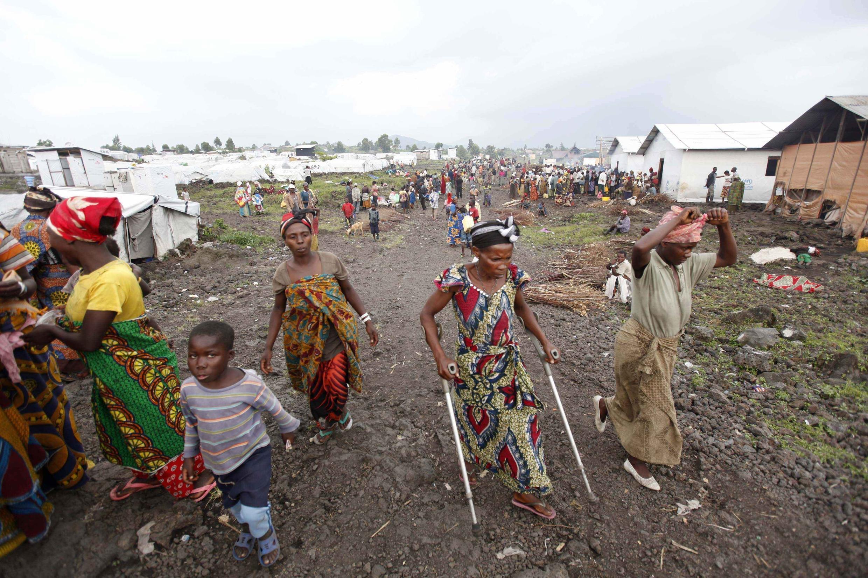 Kambi ya  Mugunga, mjini Goma, Mashariki mwa DRC