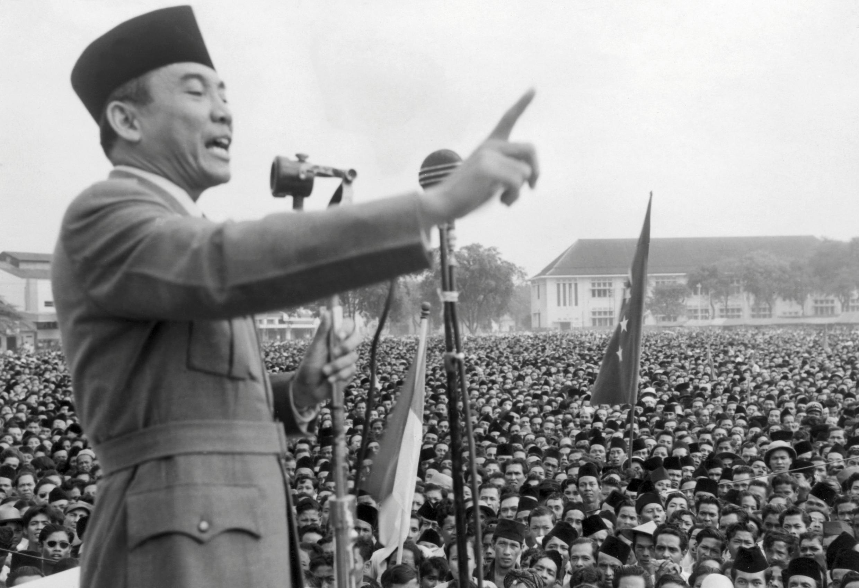 Soekarno en 1940.