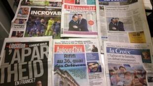 Diários franceses 05/02/2015