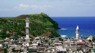 L'île d'Anjouan aux Comores.